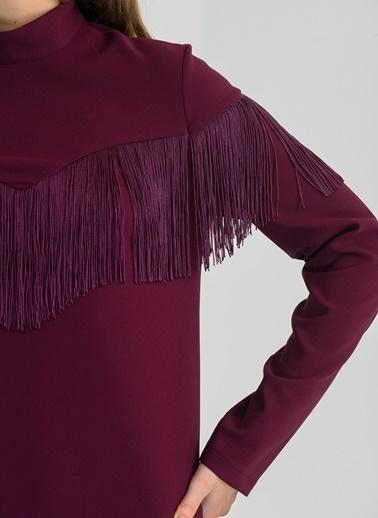 Püsküllü Elbise-People By Fabrika